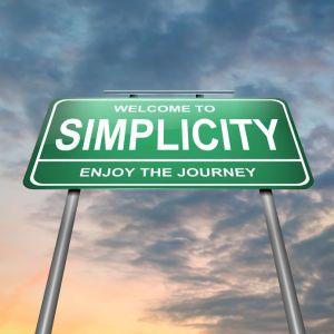simplicity sign